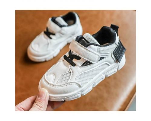 Кросівки Racnio дихаюча сітка біло-чорні