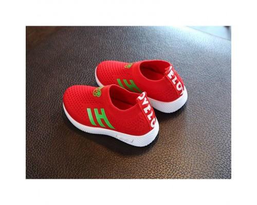 Літні кросівки текстильні HI BOB червоні