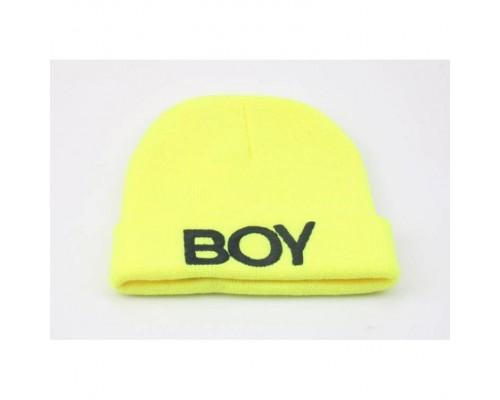Шапка Boy жовта 3598