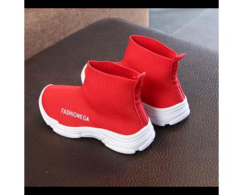 Текстильні кросівки Fashionega червоні