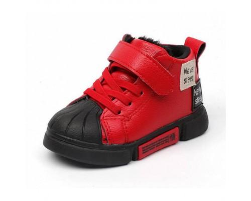 Кросівки дитячі демісезонні Never Steep червоні