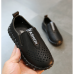 Туфлі дитячі дихаючі PU-шкіра Fashion чорні