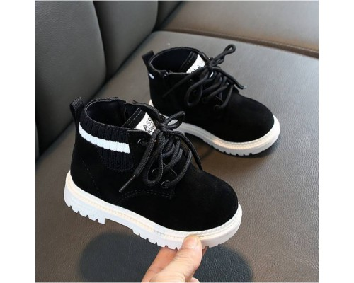 Черевички дитячі RAW чорні