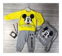Костюм для хлопчика Mickey жовтий 3732