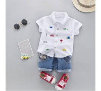 Костюм Fashion білий 3238