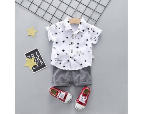 Костюм Stars білий 3241