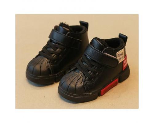 Кросівки дитячі демісезонні Never Steep чорні