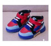 Кросівки дитячі весна-осінь MG 858 червоно-блакитні