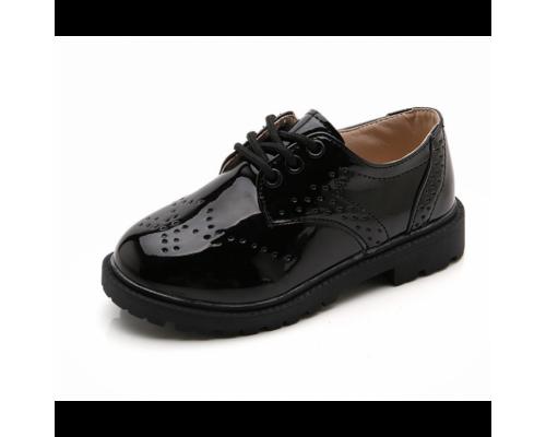 Лаковані туфлі дитячі Bobozi чорні
