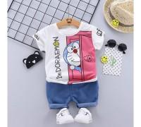 Літній костюм для хлопчика Doraemon 3994