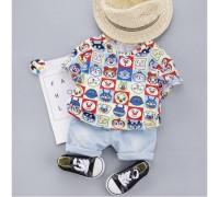 Літній костюм для хлопчика Faces 3995