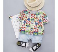 Літній костюм для хлопчика Faces 3996