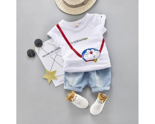 Літній костюм хлопчикові Doraemon 3198