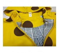 Парка для хлопчиків Кружечки жовта 3533