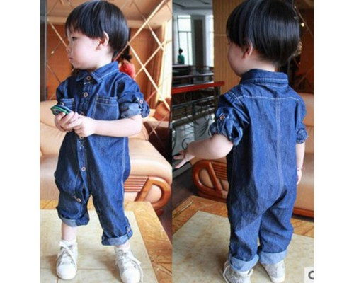 Стильний комбінезон джинс 3991