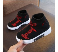 Текстильні кросівки Like Fila червоні букви