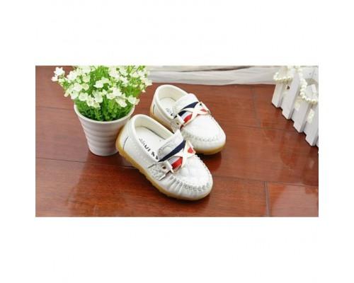 Туфлі дитячі білі 20005