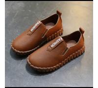 Туфлі дитячі PU-шкіра Fashion коричневі