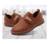 Туфлі дитячі PU-шкіра Sport коричневі