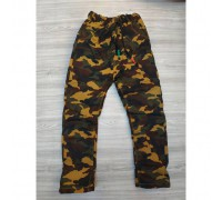 Утеплені штани для хлопчика камуфляж 3572