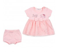 Плаття Breeze з шортами (7728-62G-peach)