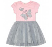 Плаття Breeze з метеликами (14370-110G-pink)