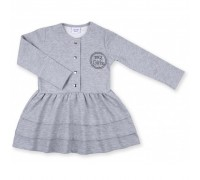 Плаття Breeze з гудзиками (8385-104G-gray)