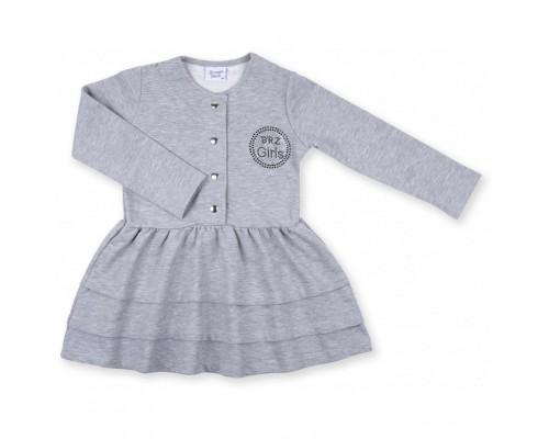 Плаття Breeze з гудзиками (8385-116G-gray)