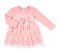 Плаття Breeze с гипюровой юбкой (8675-98G-peach)