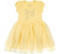 Плаття Breeze з бантиком з страз (6283-86G-yellow)