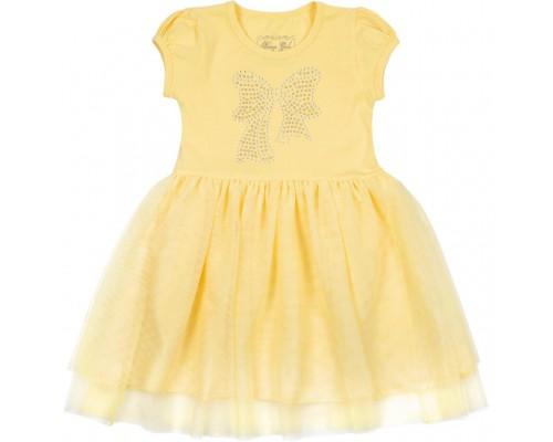 Плаття Breeze з бантиком з страз (6283-92G-yellow)
