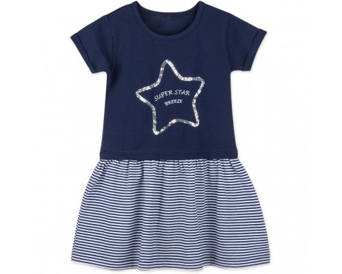 Плаття Breeze із зіркою з паєток (8745-98B-blue)