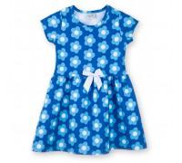 Плаття Breeze в блакитні квіти (8899-104G-blue)
