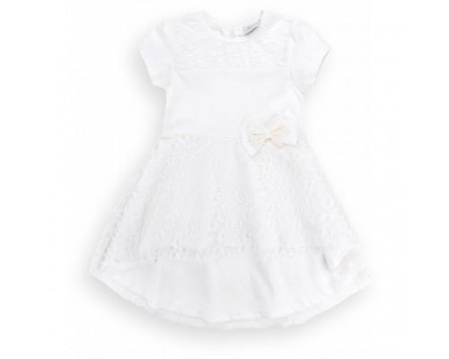Плаття Breeze з гіпюровою фігурною спідницею (8302-104G-beige)
