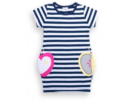Плаття Breeze в смужку з кишеньками (8992-92G-blue)