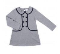 Плаття Breeze з гудзиками (9680-98G-gray)