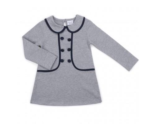 Плаття Breeze з гудзиками (9680-116G-gray)