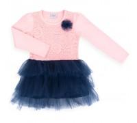Плаття Breeze з фатіновою спідницею і квіточкою (9556-98G-pinkblue)
