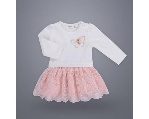 Плаття Breeze з метеликом (10440-80G-pink)