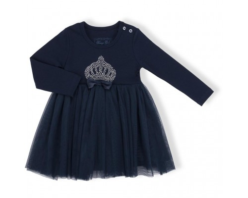 Плаття Breeze з коронкою (10428-110G-blue)