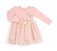 Плаття Breeze с кружевной юбкой (10548-110G-pink)