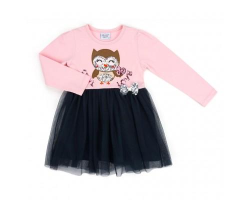 Плаття Breeze з совушкою (10107-98G-pinkblue)