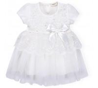 Плаття Breeze кружевное с оборками (9011-92G-cream)