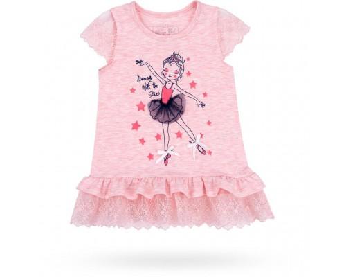 Плаття з балеринкою Breeze (10735-104G-peach)