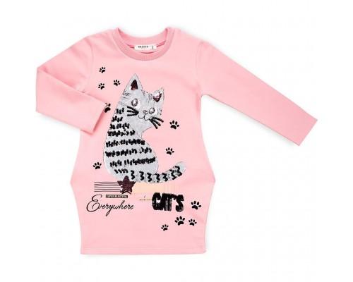Плаття Breeze з котом (10795-110G-pink)