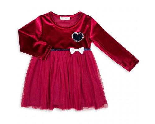 Плаття Breeze бархатное (10381-92G-red)
