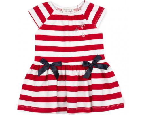 Плаття Babyjoy в полоску (11813-92G-red)