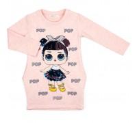 Плаття Breeze с куклой (10824-128G-peach)