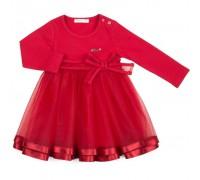 Плаття Breeze с фатиновой юбкой (12302-92G-red)