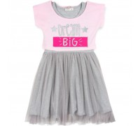 Плаття Breeze с топом и фатиновой юбкой (12357-128G-pink)